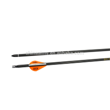 wholesale hunting archery ID6.2 OD7.6mm 3k pure carbon arrow with changable Arrowhead