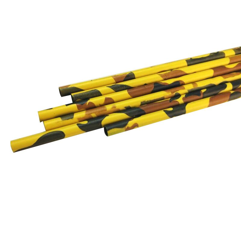 Carbon Shaft 26Inch Camo Yellow Color I.D. 6.2mm Carbon Fiber Arrow Shaft